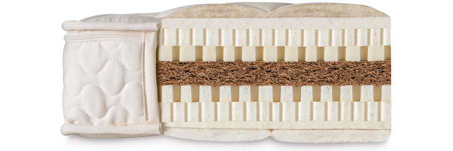 Füllmaterial einer gesunden Komfort-Matratze